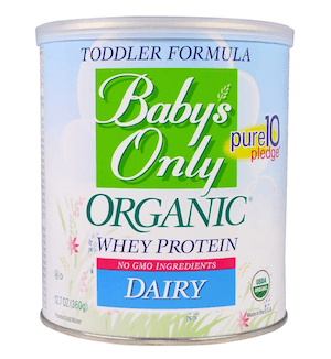 Organic baby formula baby s only