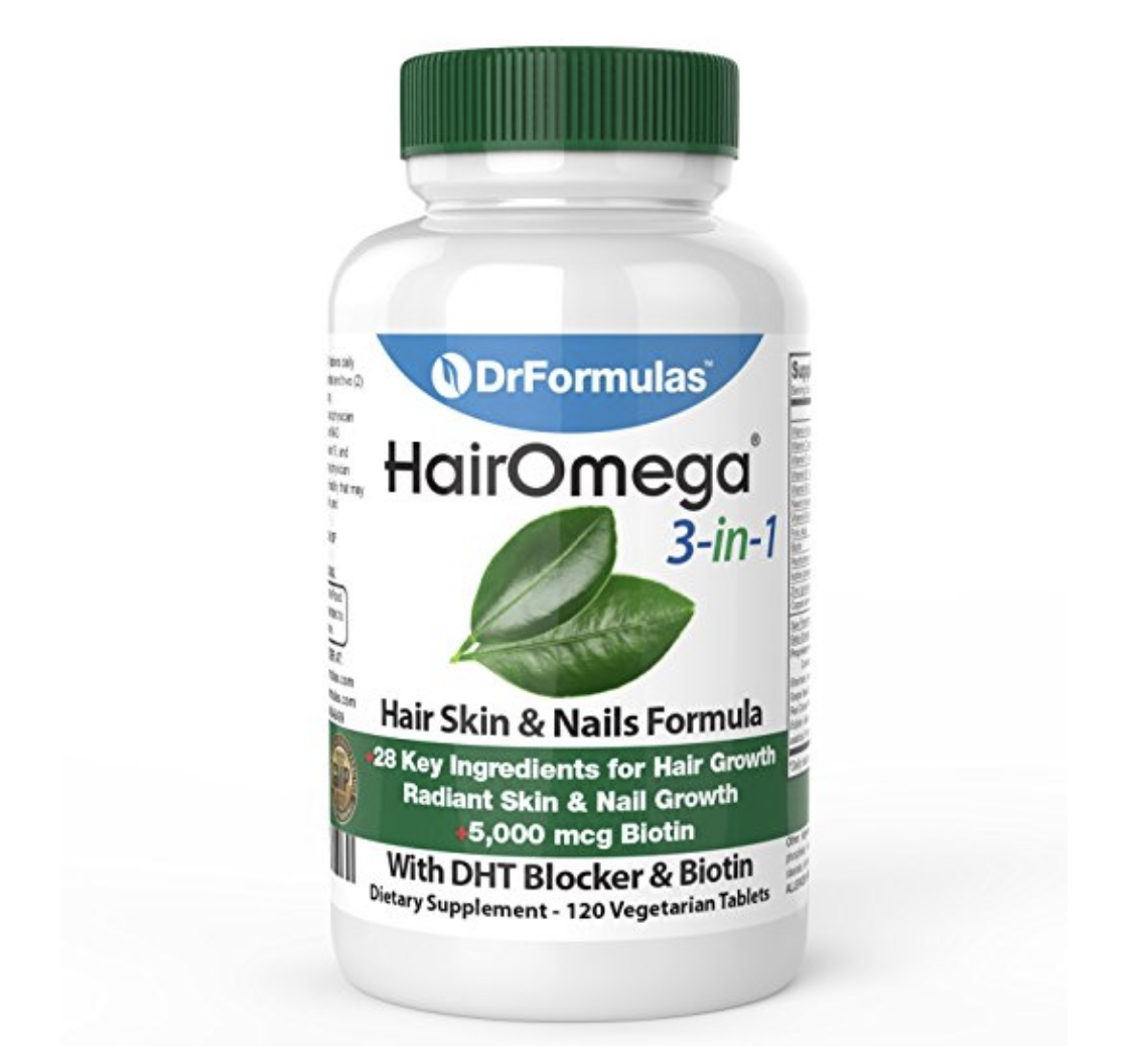 prevent hair loss natural with hair omega