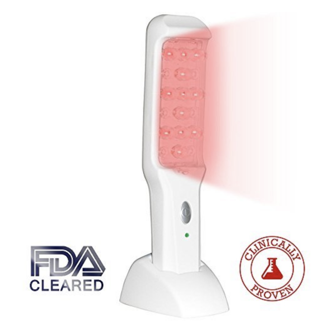 prevent hair loss natural with a laser comb