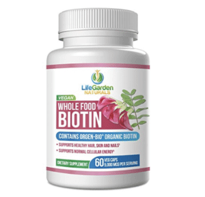 prevent hair loss naturally by taking organic biotin