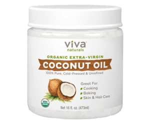 prevent hair loss naturally by using organic coconut oil