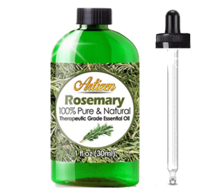prevent hair loss naturally by using rosemary oil