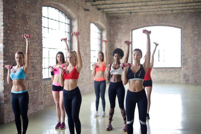 women exercice
